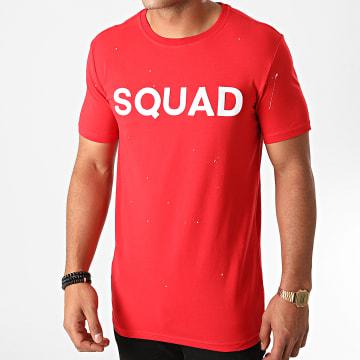 Uniplay - Tee Shirt THL-12 Rouge