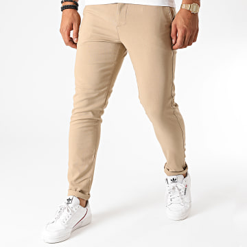 Aarhon - Pantalon Chino A006 Beige