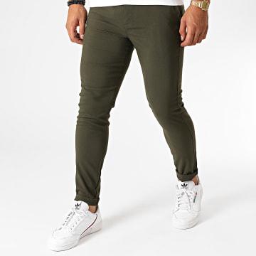 Aarhon - Pantalon Chino A006 Vert Kaki