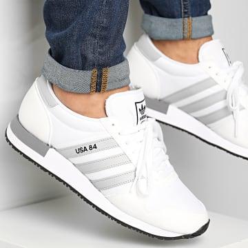 Adidas Originals - Baskets USA 84 FV2049 Footwear White Grey Three