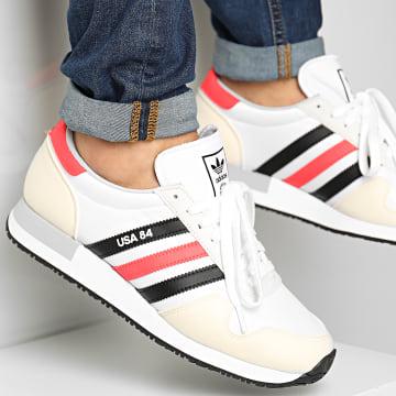 Adidas Originals - Baskets USA 84 FX9327 Footwear White Core Black Solar Red