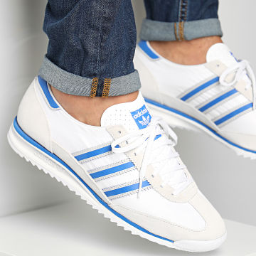 Adidas Originals - Baskets SL 72 FV9782 Footwear White Blue Grey One