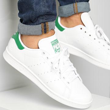 Adidas Originals - Baskets Stan Smith Vegan FU9612 Footwear White Green