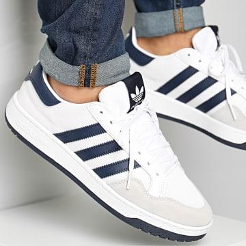 adidas - Baskets Team Court FX8482 Footwear White Collegiate Navy