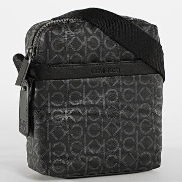 Calvin Klein - Sacoche Reporter With Pockets 5922 Noir
