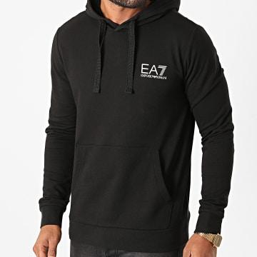 EA7 - Sweat Capuche 6HPM18-PJ05Z Noir