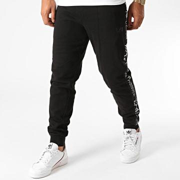EA7 - Pantalon Jogging A Bandes 6HPP90-PJ07Z Noir
