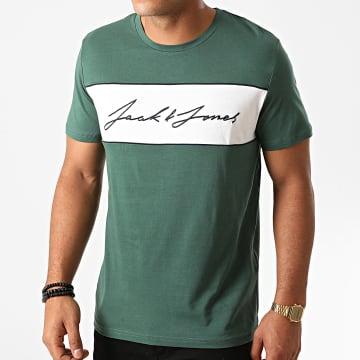 Jack And Jones - Tee Shirt Hikari Vert Blanc
