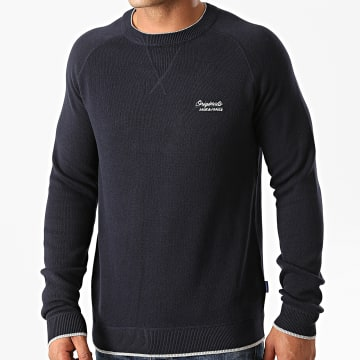 Jack And Jones - Sweat Crewneck Joes Bleu Marine