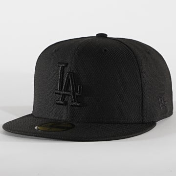 New Era - Casquette Fitted 59Fifty Diamond Era 12040295 Los Angeles Dodgers Noir