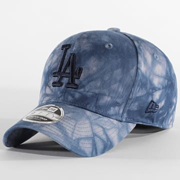 New Era - Casquette 9Fifty Stretch Snap Tie Dye 12489994 Los Angeles Dodgers Bleu