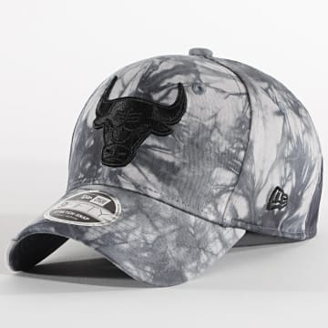 New Era - Casquette 9Fifty Stretch Snap Tie Dye 12489995 Chicago Bulls Gris