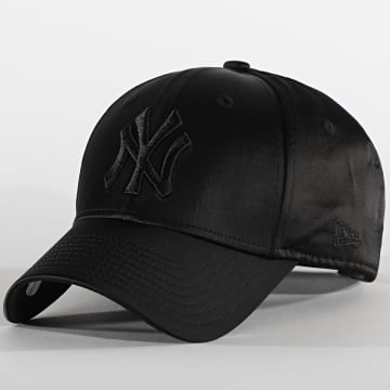 New Era - Casquette Femme 9Forty Satin 12489924 New York Yankees Noir