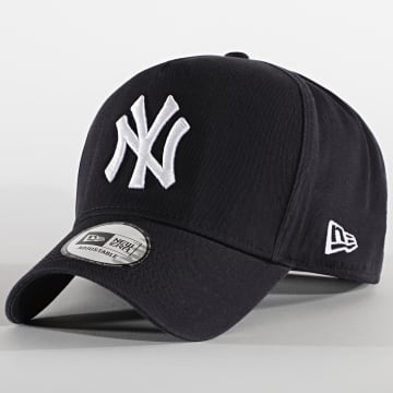 New Era - Casquette Team Washed A-Frame 12489983 New York Yankees Bleu Marine