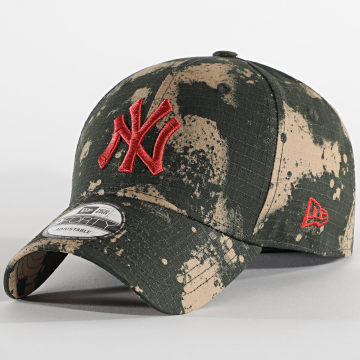 New Era - Casquette 9Forty Blurr Camo 12490113 New York Yankees Vert Kaki