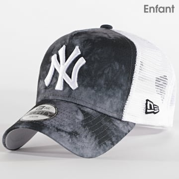 New Era - Casquette Trucker Enfant 9Forty Tie Dye 12490199 New York Yankees Gris