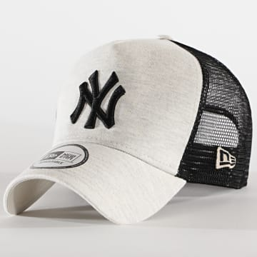 New Era - Casquette Trucker Jersey Essential 12490227 New York Yankees Beige