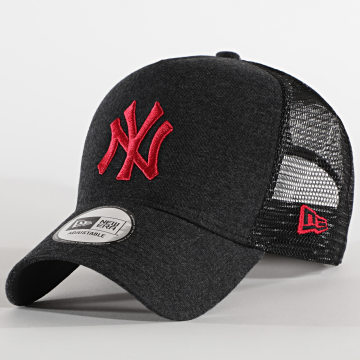 New Era - Casquette Trucker Jersey Essential 12490228 New York Yankees Gris Anthra Chiné