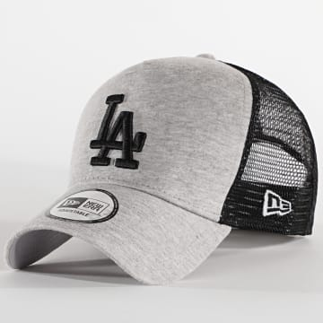 New Era - Casquette Trucker Jersey Essential 12490230 Los Angeles Dodgers Gris Chiné