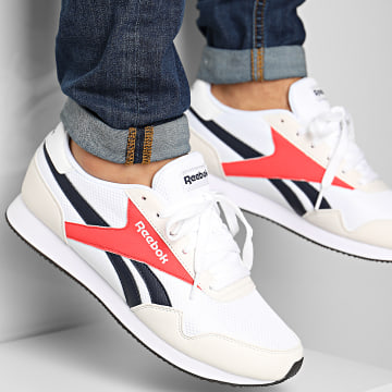 Reebok - Baskets Royal Classic Leather Jogger 3 FV0206 White Vector Navy Red