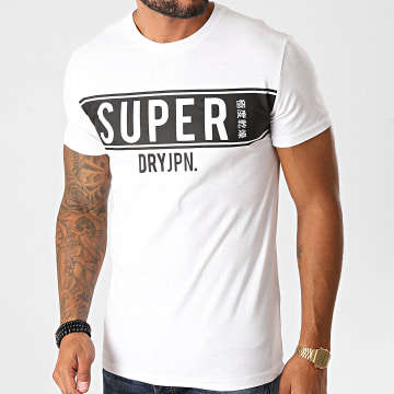 Superdry - Tee Shirt Panel M1010388A Blanc
