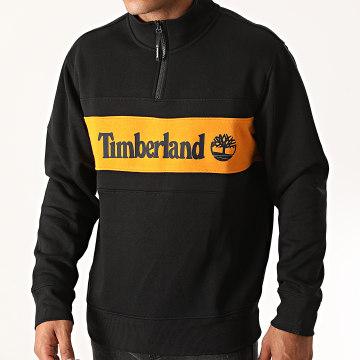 Timberland - Sweat Col Zippé C And S A2AKW Noir