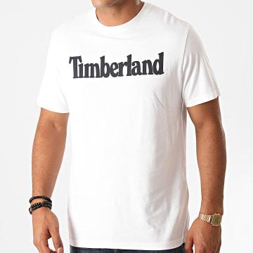Timberland - Tee Shirt Kennebec River Brand Linear A2C31 Blanc
