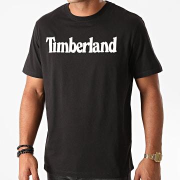 Timberland - Tee Shirt Kennebec River Brand Linear A2C31 Noir