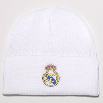 adidas - Bonnet Real Madrid FR9745 Blanc