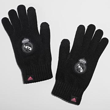 adidas - Gants Real Madrid FR9747 Noir