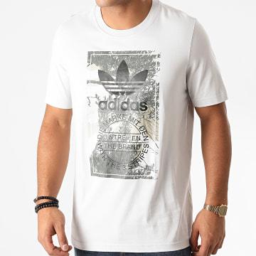 Adidas Originals - Tee Shirt Camouflage Tongue GD5952 Gris