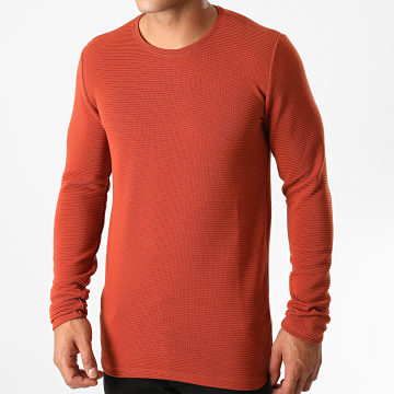 Classic Series - Tee Shirt Manches Longues 5060 Brique