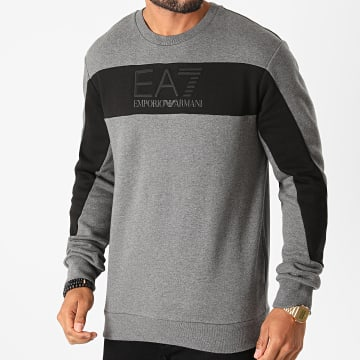 EA7 - Sweat Crewneck 6HPM84-PJ07Z Gris Chiné
