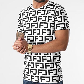 Final Club - Tee Shirt Premium Fit Avec Motif Monogram 492 Blanc