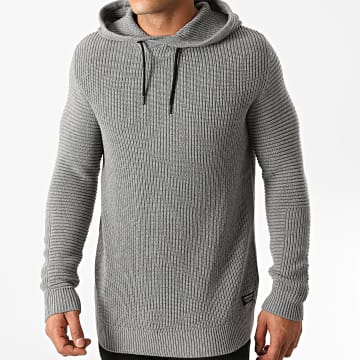 Jack And Jones - Pull Capuche Fairweather Gris