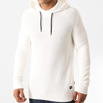 Jack And Jones - Pull Capuche Fairweather Beige