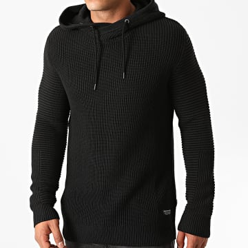 Jack And Jones - Pull A Capuche Fairweather Noir