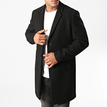 Jack And Jones - Manteau Moulder Wool Noir