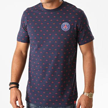PSG - Tee Shirt P13633C Bleu Marine