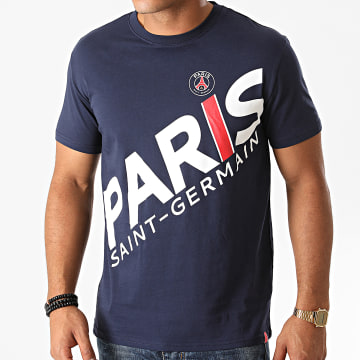 PSG - Tee Shirt P13627C Bleu Marine