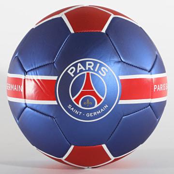 PSG - Ballon De Foot Metallic P13748 Bleu Marine