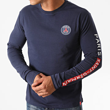 PSG - Tee Shirt Manches Longues P13634C Bleu Marine