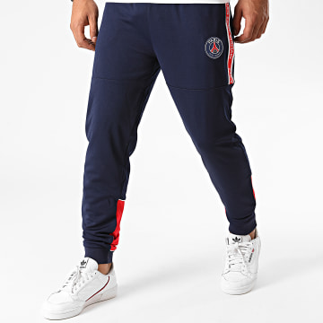 PSG - Pantalon Jogging A Bandes PSG P13642 Bleu Marine