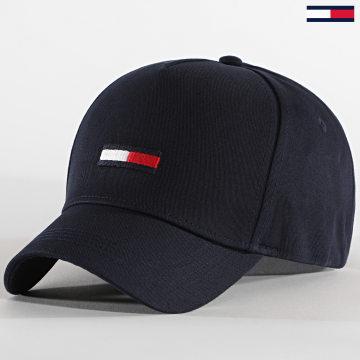 Tommy Jeans - Casquette Flag Cap 0843 Bleu Marine
