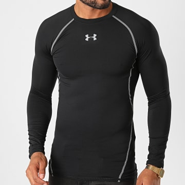Under Armour - Tee Shirt De Sport Manches Longues 1257471 Noir