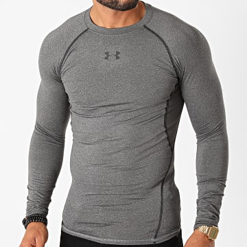 Under Armour - Tee Shirt Manches Longues 1257471 Gris Anthracite Chiné