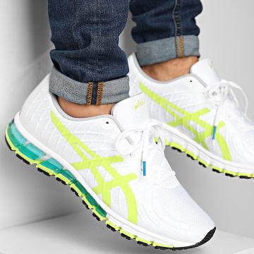 Asics - Baskets Gel Quantum 180 4 1201A055 White Lime Zest