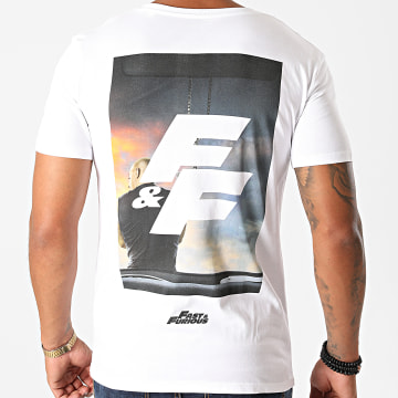 Fast & Furious - Tee Shirt Fast And Furious Sunset Blanc