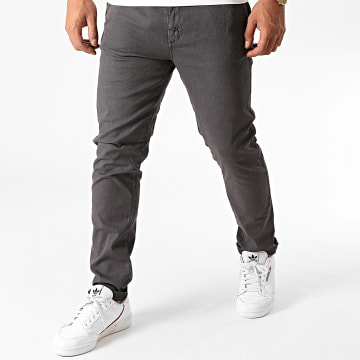 MZ72 - Pantalon Chino Enzio Gris Anthracite