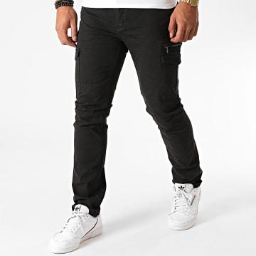 MZ72 - Pantalon Cargo Erwan Noir